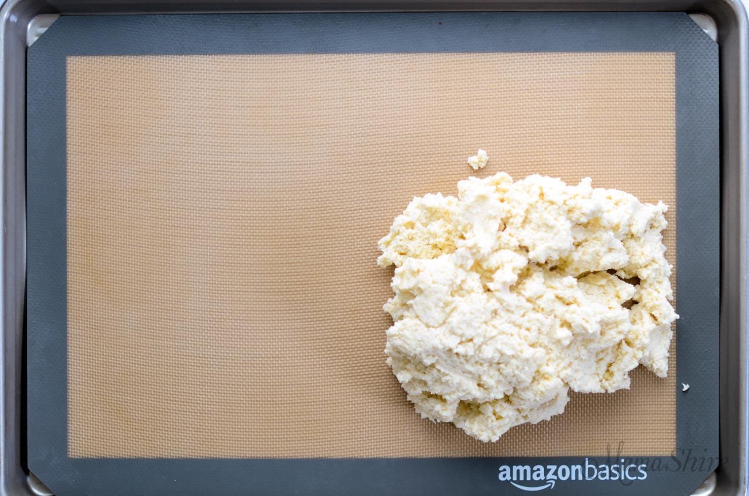 Gluten-free shortcake dough.