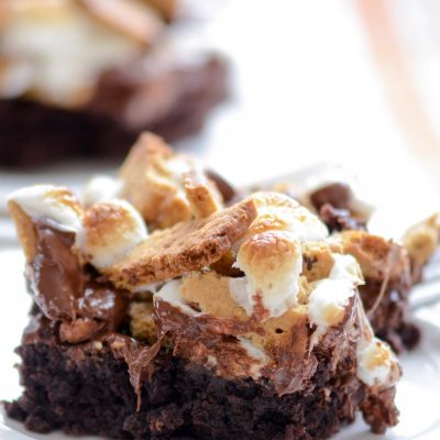 Gluten-Free S'mores Brownies (Dairy-Free)