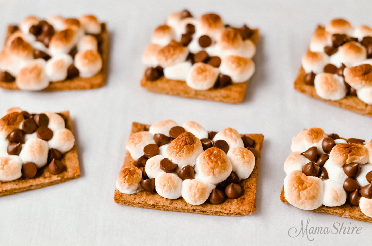 A gluten-free s'mores oven recipe for the easiest s'mores ever.