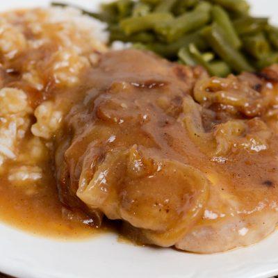 Gluten-Free Smothered Pork Chops (Dairy-Free)