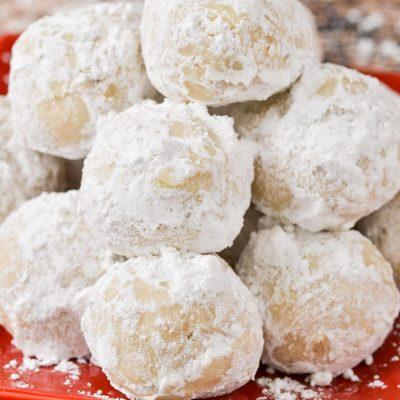 Gluten-Free Snowball Cookies (Dairy-Free)