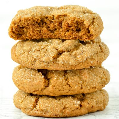 Gluten-Free Soft Molasses Cookies (Dairy-Free)