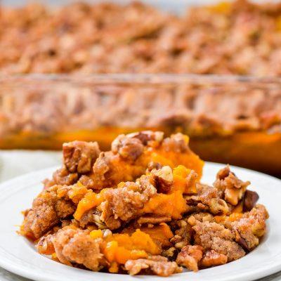 Gluten-Free Sweet Potato Casserole Recipe (Dairy-Free)