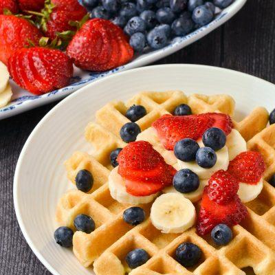 Gluten-Free Belgian Waffles Recipe (Dairy-Free)