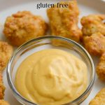 A bowl of Chick-Fil-A sauce made from a homemade gluten-free & soy-free recipe.