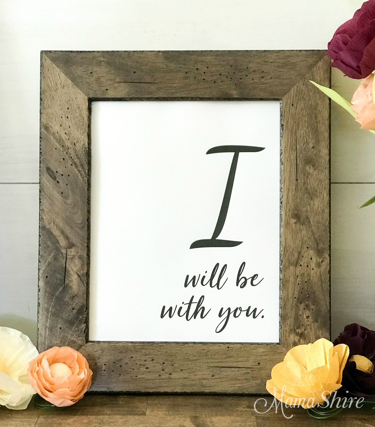 I Will Be With You free printable PDF