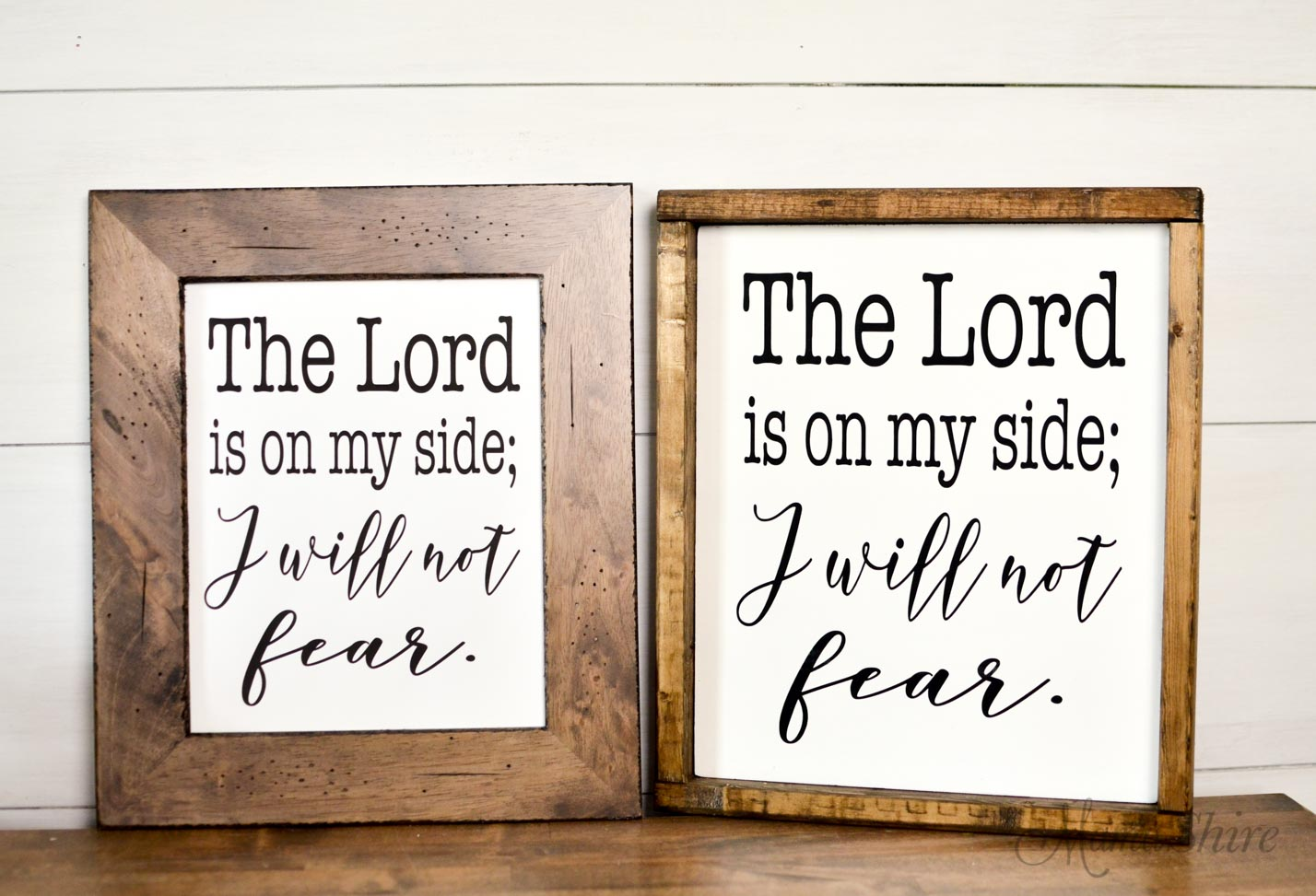 Free SVG, DXF, PDF of I Will Not Fear.