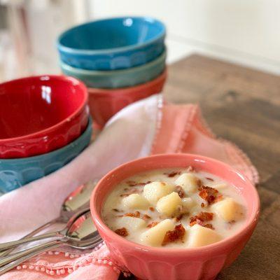Instant Pot Potato Soup (Dairy-Free & Gluten-Free)