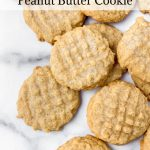 Soft and delicious gluten-free peanut butter cookies.
