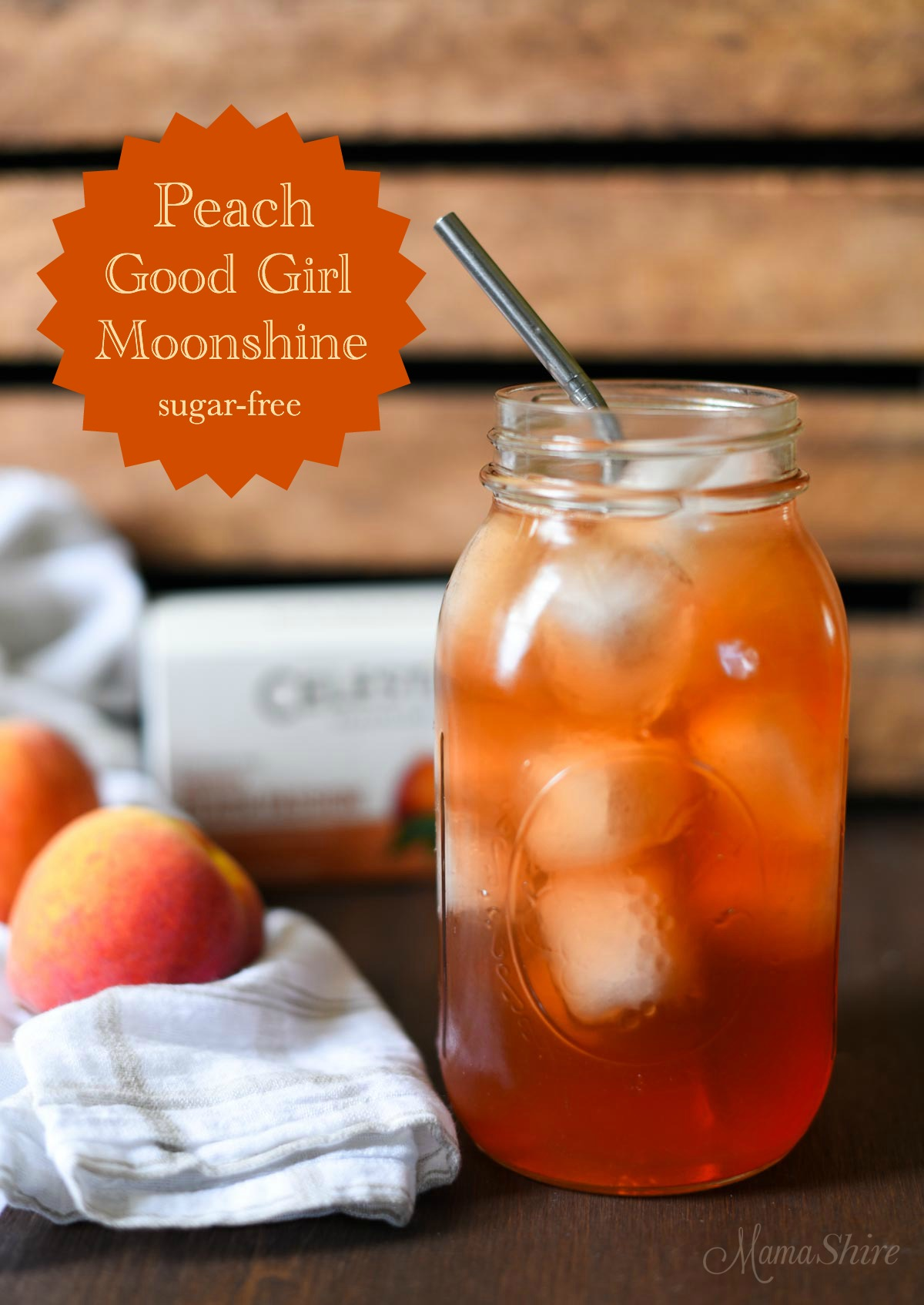 Peach Good Girl Moonshine