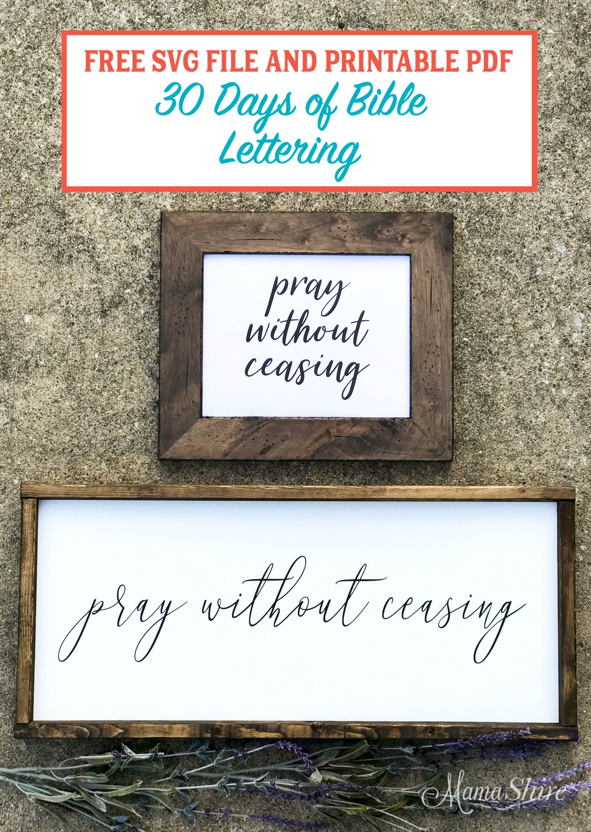 Pray without ceasing Free Files.