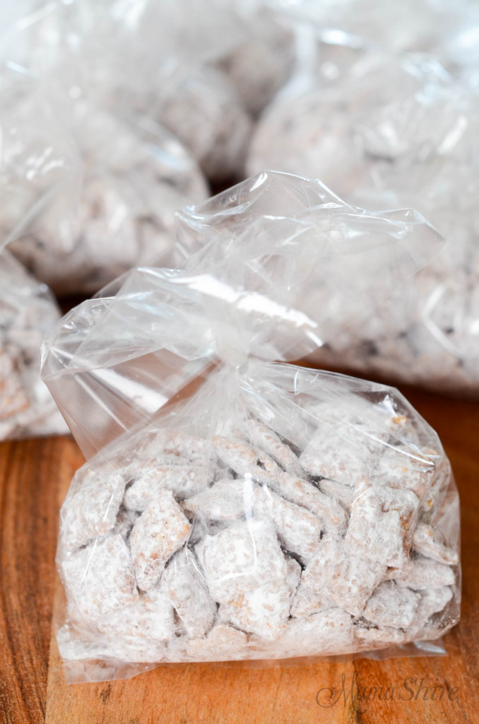 Dairy-free puppy chow in individual bags.