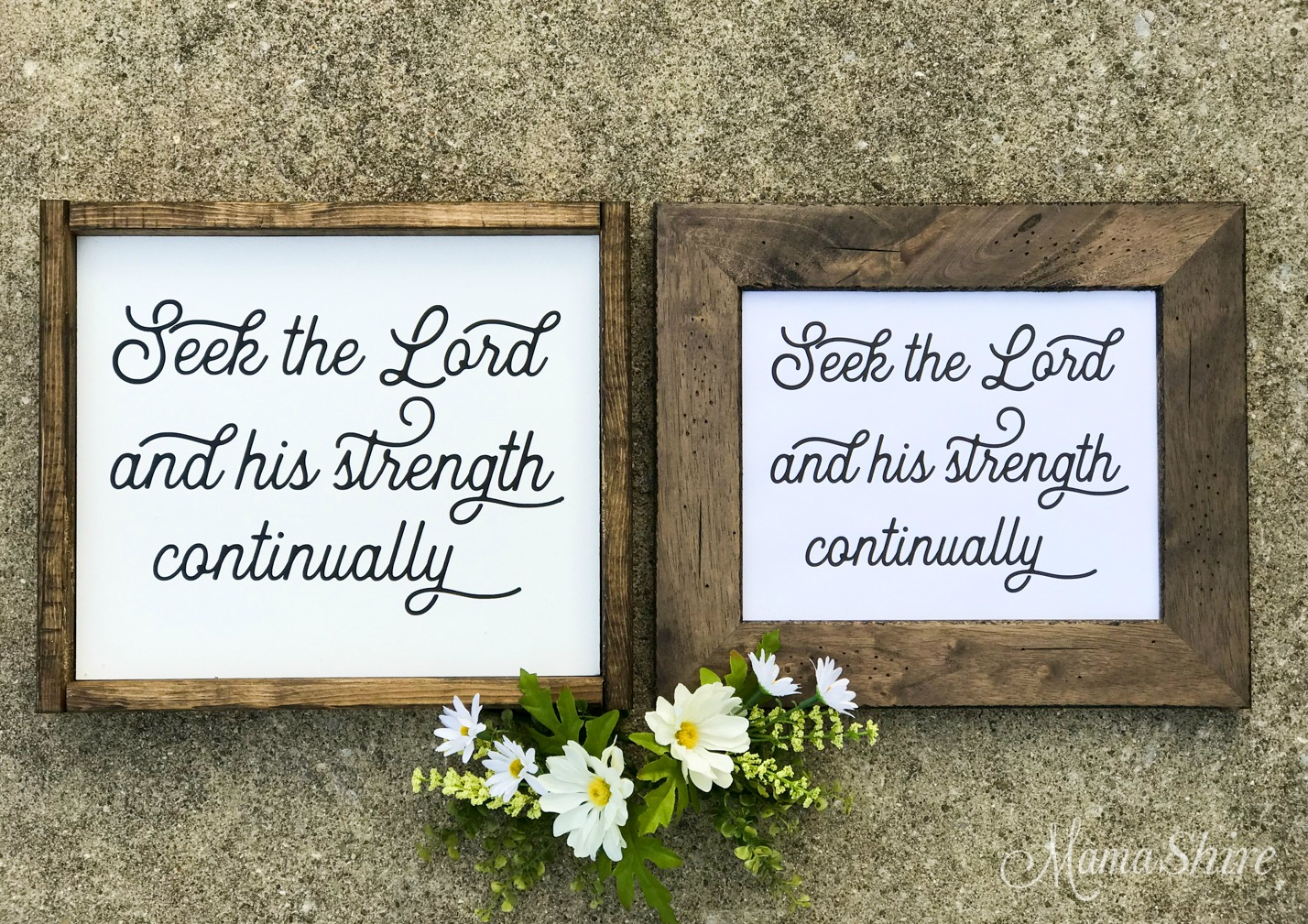 Seek the Lord made with Free SVG & Printable PDF files.