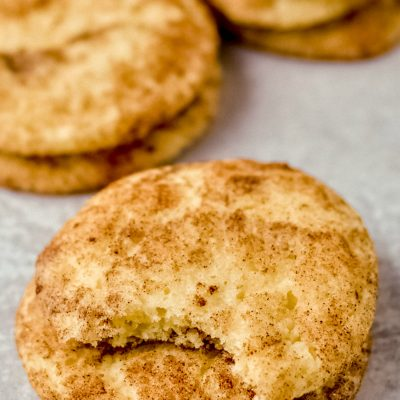 Gluten-Free Snickerdoodle Recipe (Dairy-Free)