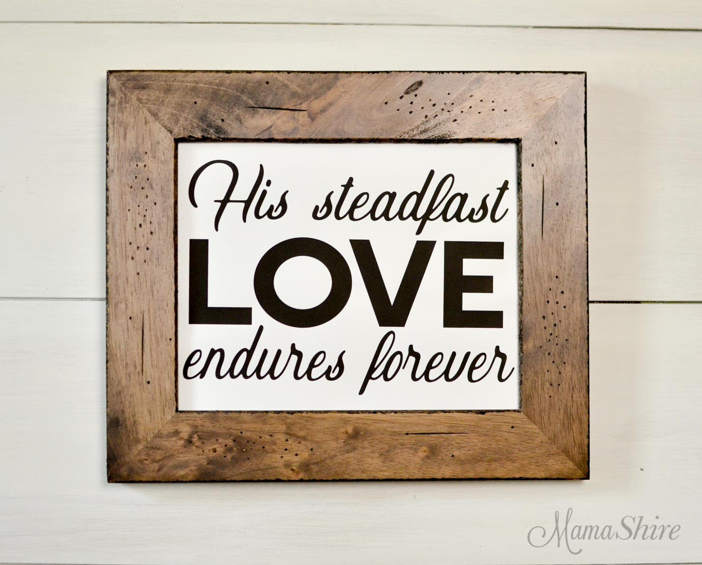 Free PDF printable of steadfast love