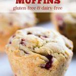 Gluten-free strawberry muffins.