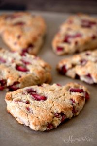 Gluten-Free Strawberry Scones