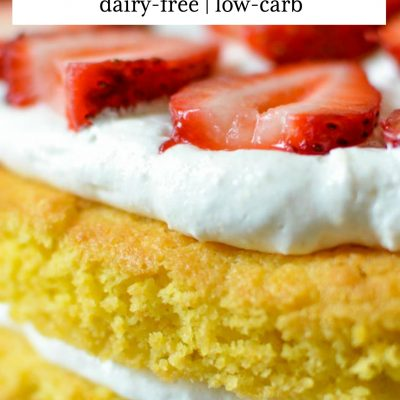 Gluten-Free Strawberry Shortcake (Dairy-free)