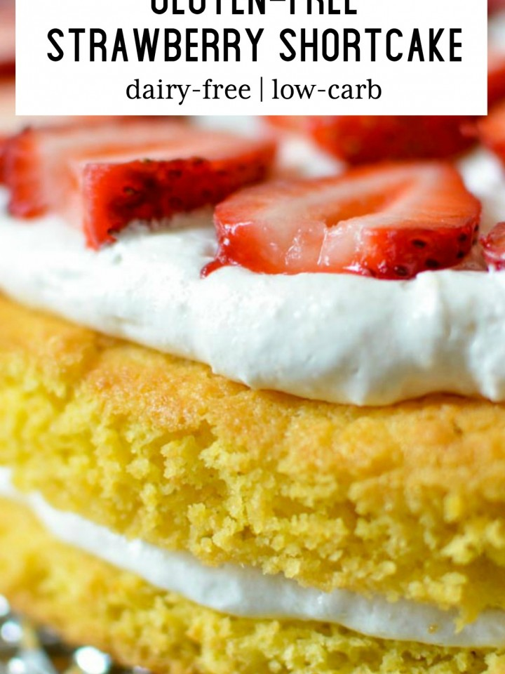 Delicious gluten-free strawberry shortcake.