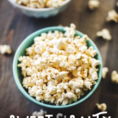 Sweet & Salty Popcorn (Sugar-Free)
