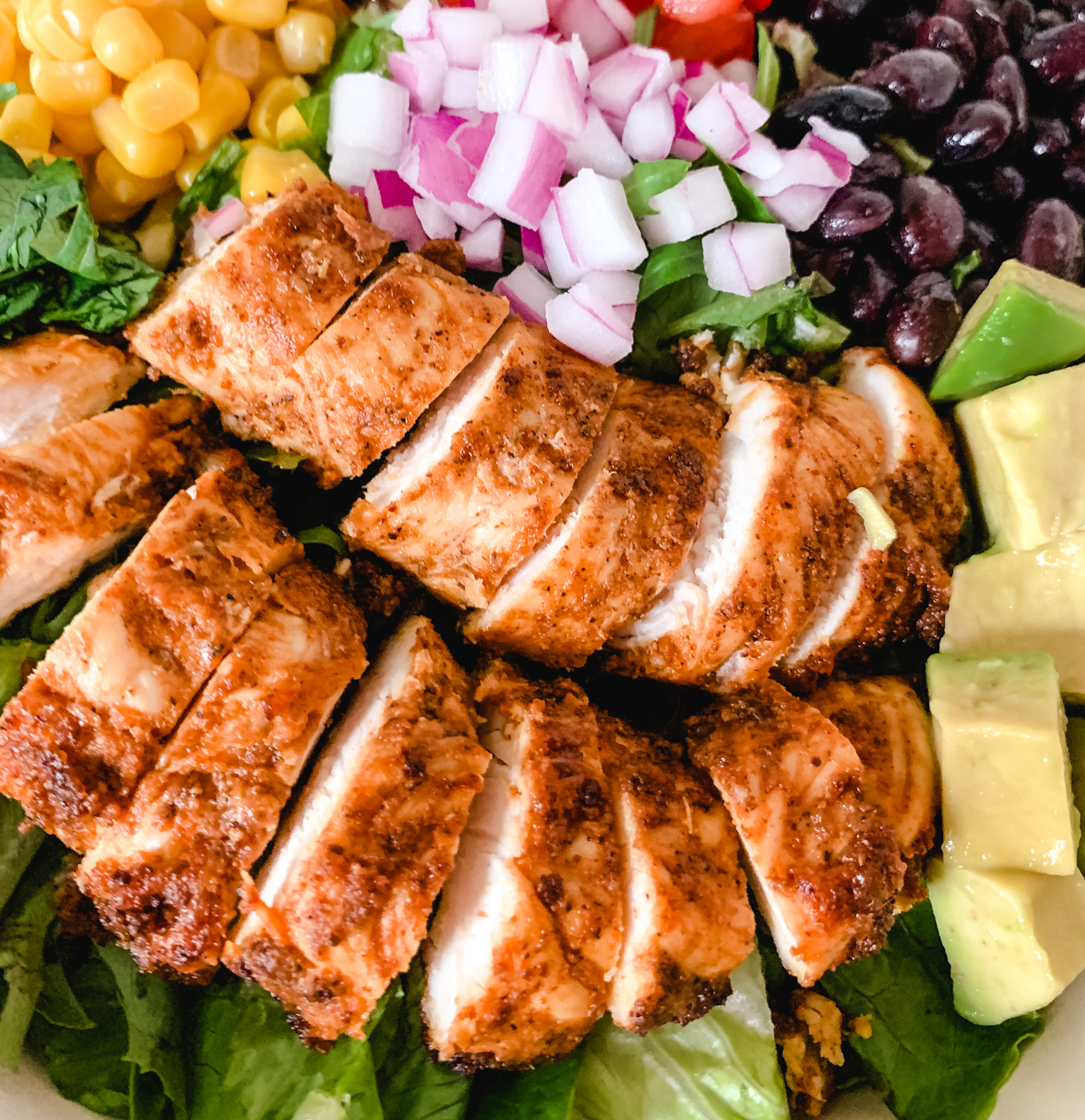Gluten-free Taco Chicken Strips.