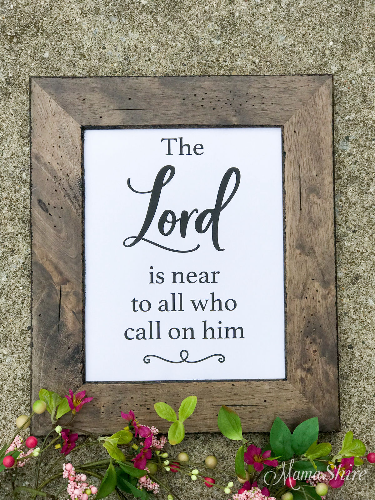 The Lord is Near Printable PDF